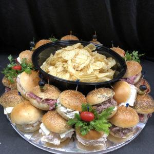 Al's Corner deli & catering sandwich tray