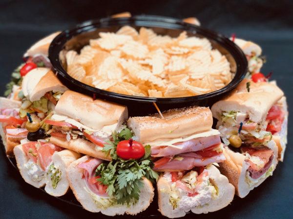 Al's Corner deli & catering hoagie tray