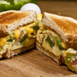Al's Corner deli & catering club sandwich