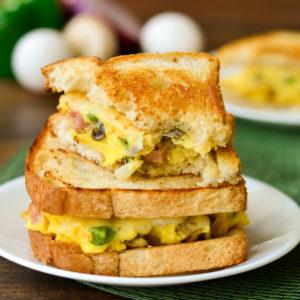 Al's Corner deli & catering omlet sandwich
