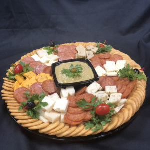 Al's Corner deli & catering cheese tray
