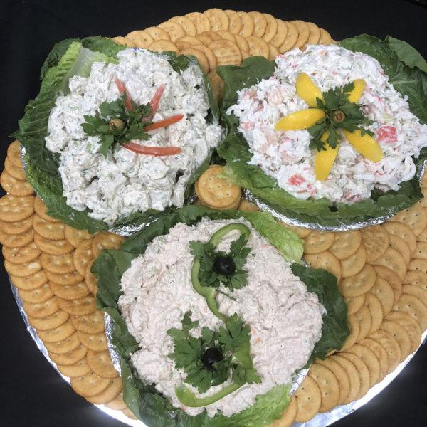 Al's Corner deli & catering salad tray